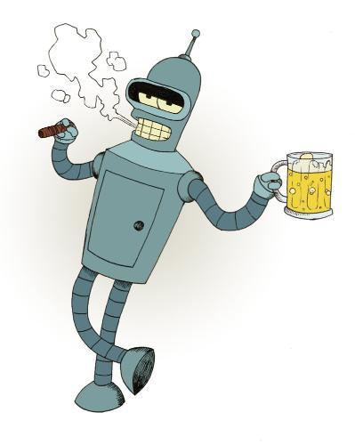 Hola, soy Bender, introduzca alcohol!